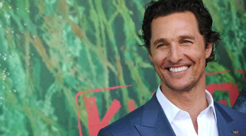 Matthew McConaugheycumplió 51 años y así lo felicitan sus pequeños hijos.
